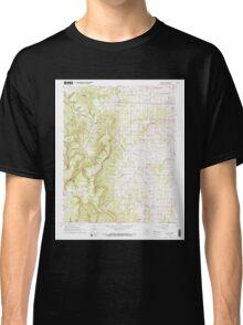 USGS TOPO Map Arkansas AR Gaither 258533 1967 24000 Classic T-Shirt