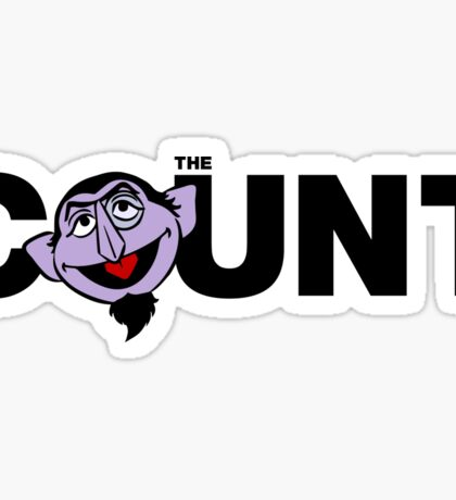 The Count Sticker