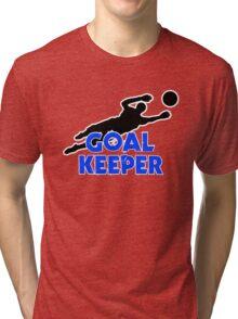 Goal Keeper Tri-blend T-Shirt