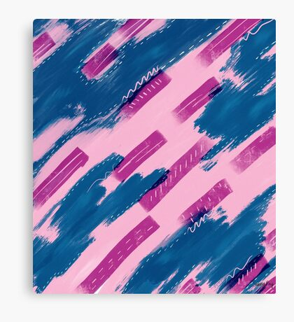 Sea of Pink Canvas Print