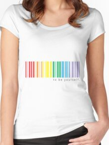 My pride Women's Fitted Scoop T-Shirt