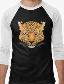 The Jaguar is watching you Men's Baseball ¾ T-Shirt