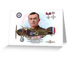 Lieutenant Ronald B. Bannerman Greeting Card