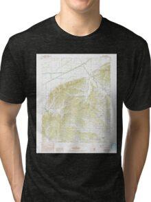 USGS TOPO Map Arkansas AR Lafe 258884 1984 24000 Tri-blend T-Shirt