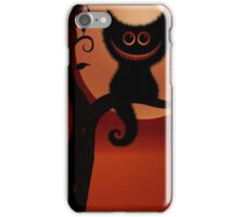 We are all mad here, Alice in wonderland we're all mad here, cheshire cat iPhone Case/Skin