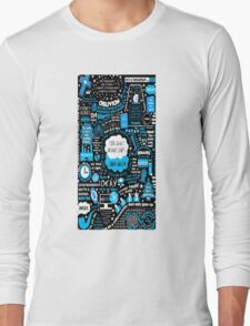 The Fault in Our Stars Quote Long Sleeve T-Shirt