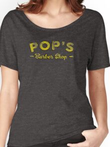 POP'S BARBER SHOP - LUKE CAGE Women's Relaxed Fit T-Shirt