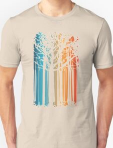Magic colored forest Unisex T-Shirt