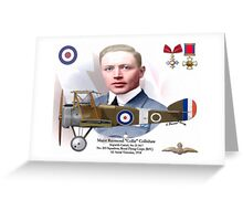 Major Raymond Collishaw Greeting Card