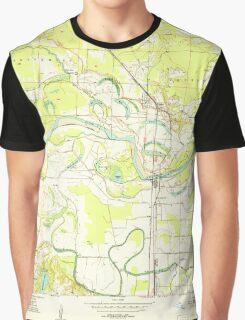 USGS TOPO Map Arkansas AR Ogden 259283 1951 24000 Graphic T-Shirt