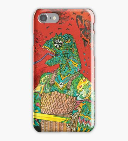 king gizzard and the lizard wizard  iPhone Case/Skin
