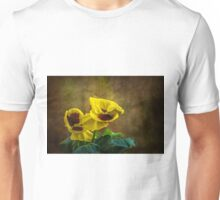 Golden yellow pensamientos Unisex T-Shirt
