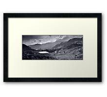 View towards Blea Tarn Framed Print
