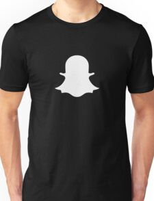 Snapchat Ghost Unisex T-Shirt