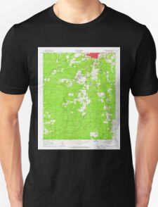 USGS TOPO Map Arkansas AR Monticello South 259119 1966 24000 Unisex T-Shirt