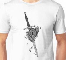 WLITW Sword and Crystal Locket Unisex T-Shirt