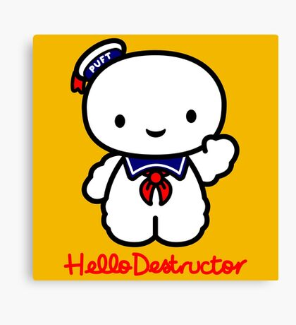 Hello Destructor Canvas Print