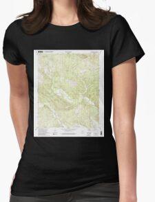 USGS TOPO Map Arkansas AR Lonsdale NE 258960 1972 24000 Womens Fitted T-Shirt