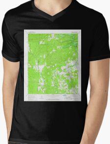 USGS TOPO Map Arkansas AR Chapel Hill 258179 1965 24000 Mens V-Neck T-Shirt