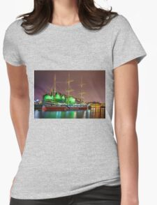 The Glenlee and Riverside Museum Womens Fitted T-Shirt