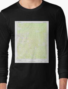 USGS TOPO Map Arkansas AR Laneburg 258901 1973 24000 Long Sleeve T-Shirt