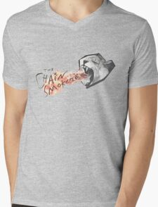 The Chainsmokers Lion Mens V-Neck T-Shirt