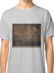 557 The Great Fire of the City of New York 16 December 1835 Classic T-Shirt