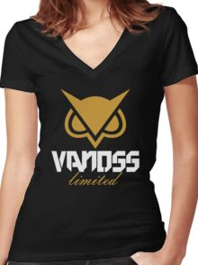 Vanoss Gold Limited Women's Fitted V-Neck T-Shirt