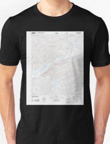 USGS TOPO Map Arkansas AR Harvey 20110713 TM Unisex T-Shirt