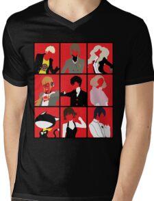 Persona 5 cast Mens V-Neck T-Shirt