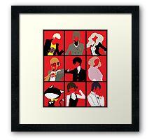 Persona 5 cast Framed Print