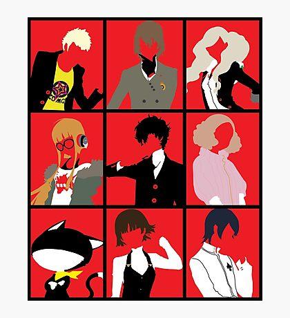 Persona 5 cast Photographic Print