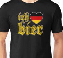 Classic Ich Liebe Bier I Love Beer Unisex T-Shirt