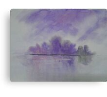 The Distant Island Canvas Print