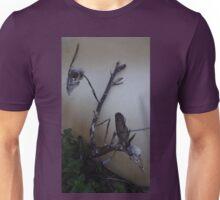 Two dead bird skulls in one dead tree Unisex T-Shirt