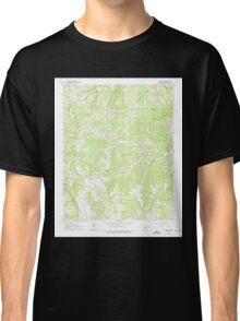 USGS TOPO Map Arkansas AR Harriet 258670 1963 24000 Classic T-Shirt