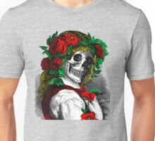 Skull faced girl Unisex T-Shirt