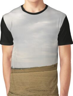 Farming by the Castle -  Graphic T-Shirt