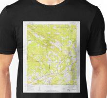 USGS TOPO Map Arkansas AR Alexander 257847 1954 24000 Unisex T-Shirt