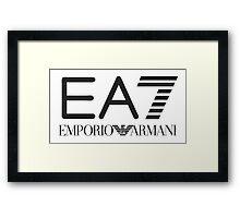 EA7 Framed Print