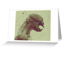 KEPLER FAUNA 453B Greeting Card