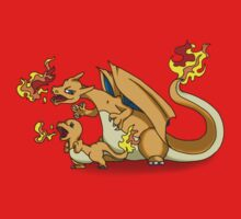 Charizard and Baby Charmander Fire Lesson by MysticSanctuary