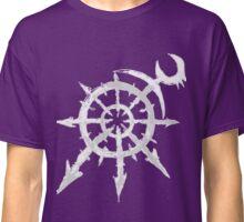 Mark of Chaos - Slaanesh (white) Classic T-Shirt