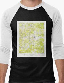 USGS TOPO Map Arkansas AR Cave City 258157 1943 24000 Men's Baseball ¾ T-Shirt