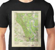 USGS TOPO Map Arkansas AR Latour 260139 1939 62500 Unisex T-Shirt