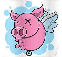 Pigs might fly Poster