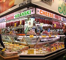 Central market, Adelaide, South Australia by indiafrank