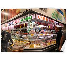 Central market, Adelaide, South Australia Poster