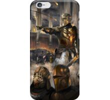 Knights Charge iPhone Case/Skin