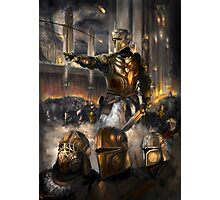 Knights Charge Photographic Print